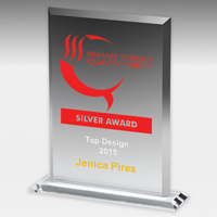 2080-2S (Screen Print), 2080-2L (Laser) - Acrylic Billboard Awards - 7""