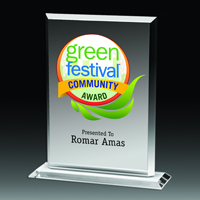4 Color Process Billboard Award - 8 1/4""