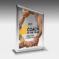 4 Color Process Billboard Award - 7 3/4""