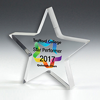 "PhotoImage® Star Paperweight - 5"" x 5"" x 3/4"""