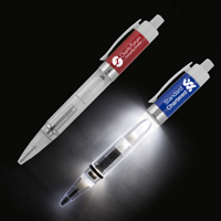 Light Up Pen with White Color LED Light