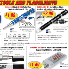 Tools & Flashlights
