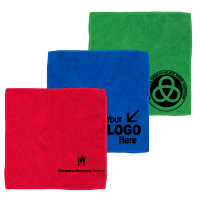 "300GSM Heavy Duty Microfiber Electronics, Rally or Fitness Towel 12"" x 12"""