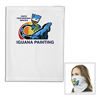 """The Husky Cooling Fandana™"" 170 GSM Full Color Sublimation Gaiter, Facecover and Headwear – Domestic Production"