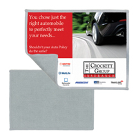 "5""x 7"" 2-in-1 Microfiber Cleaning Cloth and Towel (Full Color Sublimation)"