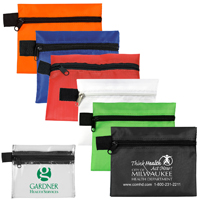 "5"" W x 4-1/4"" H - Small Zipper Storage Pouch Bag"