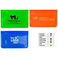 7 Piece Economy First Aid Kit in Colorful Vinyl Pouch