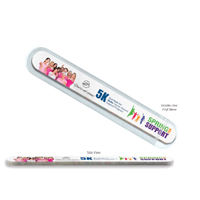 Multi-Color Thick Foam Nail File