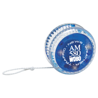 Blue Light-Up LED Yo-Yo with Blue Flashing Lights