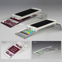 7618S (Screen Print), 7618L (Laser), 7618P (4Color Process) - Award Quality Acrylic Cell Phone Stand