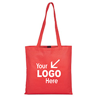 Day Tote & Shopping Bag with Hook and loop Fastener Closure