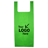 "12"" W x 22-1/2"" - Everyday Lightweight T-Shirt Style Grocery Shopping Tote Bag"