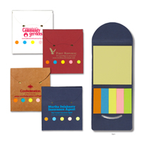 Recycled Sticky Notes and Flags Booklet
