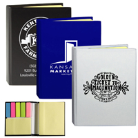 Full Size Sticky Notes and Flags Notepad Notebook