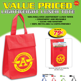 Value Priced Lightweight Lunch Tote