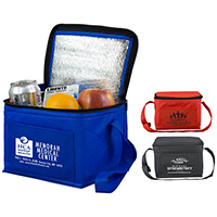 On-The-Go 6 Pack Insulated Cooler Bag