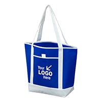 "17-1/2"" W x 13-1/2"" H x 6"" D - Beach, Corporate and Travel Tote Bag"