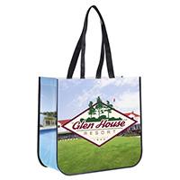 Stylin' Full Color Custom Tote Bag