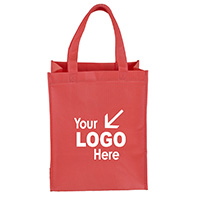 """Full View Junior"" Large Imprint Grocery Shopping Tote Bag"