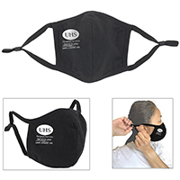 3Ply Reusable Cotton Face Mask with Ear Loop Adjuster