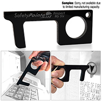 Touchless Black Sanitary Key