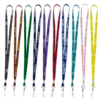 "1/2"" Supersoft Polyester Silkscreen Lanyard"