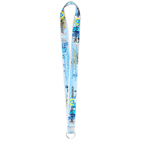 "1""Super Soft Polyester Multi-Color Sublimation Lanyard (Overseas Production 8-10 Weeks)"