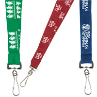"3/4"" Silkscreen Lanyard with FREE Breakaway Release"