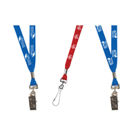 "3/8"" Silkscreen Lanyard with FREE Breakaway Release"