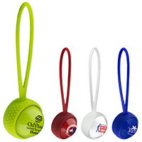 Vanilla Scented Lip Moisturizer Ball with Leash Strap