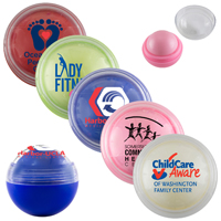Vanilla Clear Cover Scented Lip Moisturizer Ball