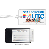Leatherette Luggage Tag (PhotoImage 4 Color)