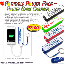 Portable Power Pack – Power Bank Charger