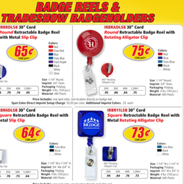 Badge Reels & TradeShow Badgeholders