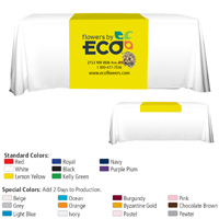 "60"" L Table Runners (PhotoImage Full Color) / Accommodates 3' Table and Larger"