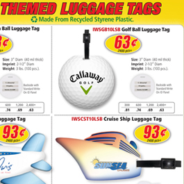 Themed Luggage Tags