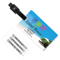 Beach Scene Luggage Bag Tag