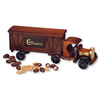 1920 Tractor-Trailer Truck with Chocolate Covered Almonds & Jumbo Cashews