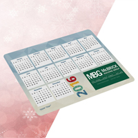 "Full-Color Ultra Opper Fiber Calendar Holiday Cloth (7 1/2"" x 5"")"