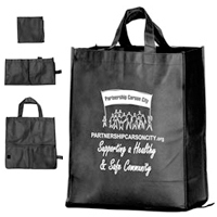 Foldable Volunteer Tote Bag