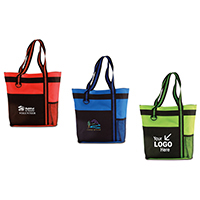 Heavyweight, Durable Classic Meeting Tote  / Bi-Color w/ 2 Pockets