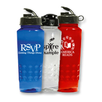 24 oz. Eco Sports Bottle BPA Free Plastic