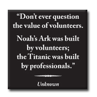 Magnet With Quote - Noah's Ark