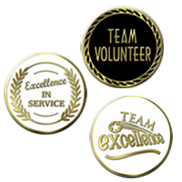 Volunteer Recognition Pins