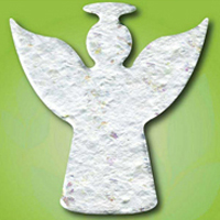 Angel Seeded Ornament