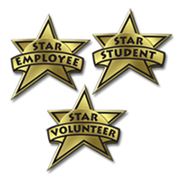 Recognition Awards - Stars For Everyone!