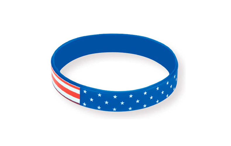 Patriotic Awareness Bracelet100% Silicone