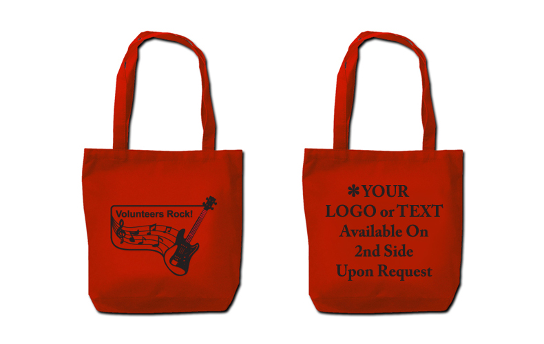 """Volunteers Rock""  Lightweight Tote Bag"