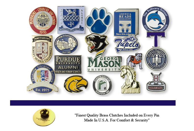 School Pins -- Years & Hours
