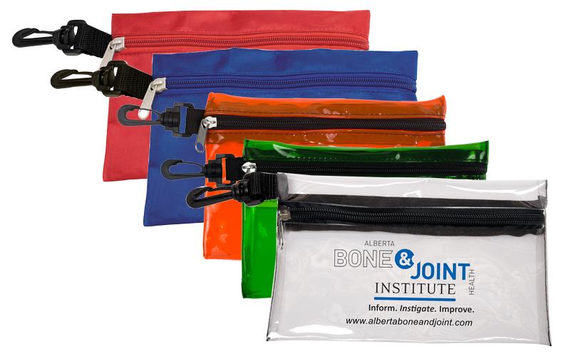 7 1 2 Quot W X 5 Quot H Large Zipper Storage Pouch Bag With